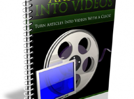 Turn Your Articles into Videos Instantly